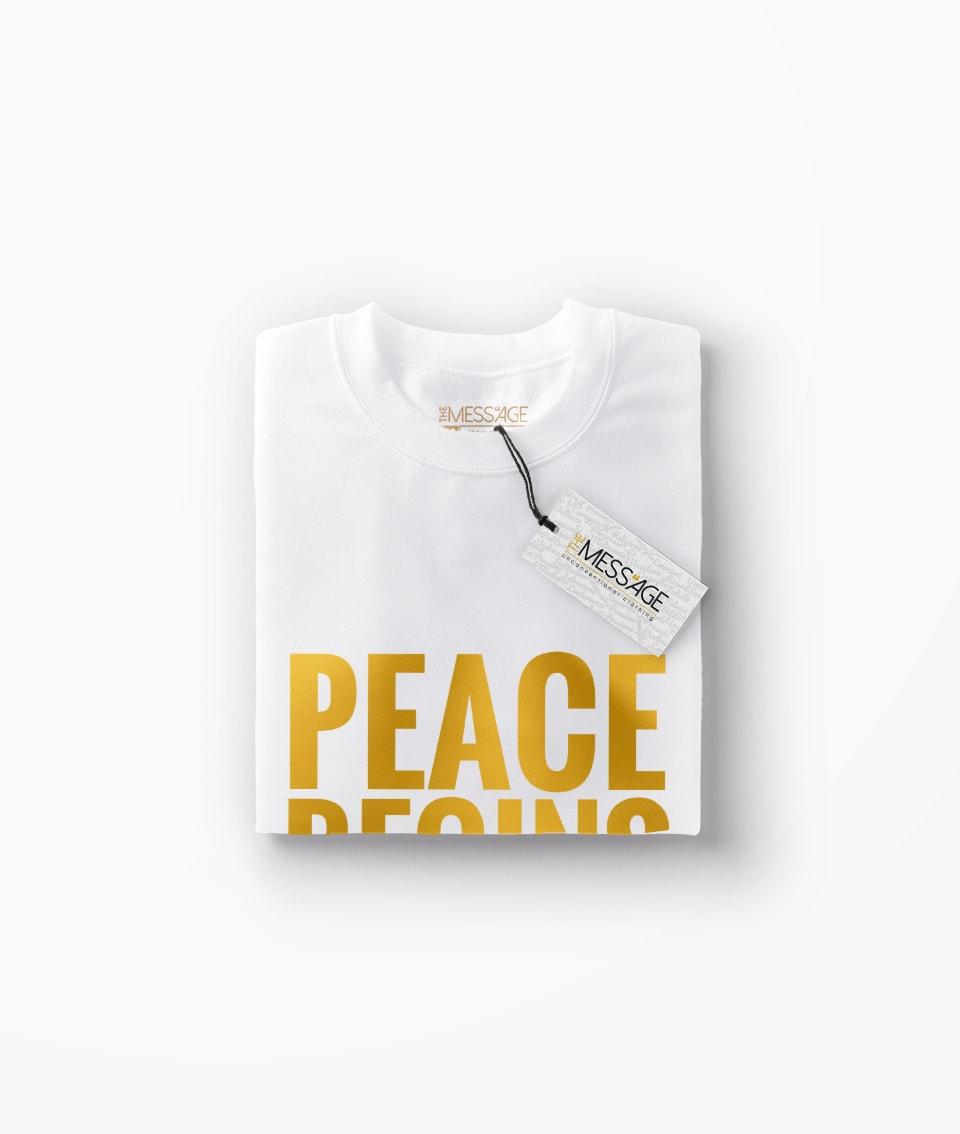 Peace begins on your plate – Vegan T-Shirt V2