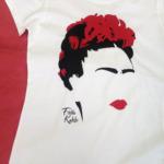 Ritratto stilizzato di Frida Kahlo - T-Shirt - Mod.2