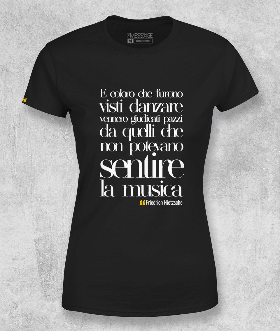 E coloro che furono visti danzare – Friedrich Nietzsche T-Shirt