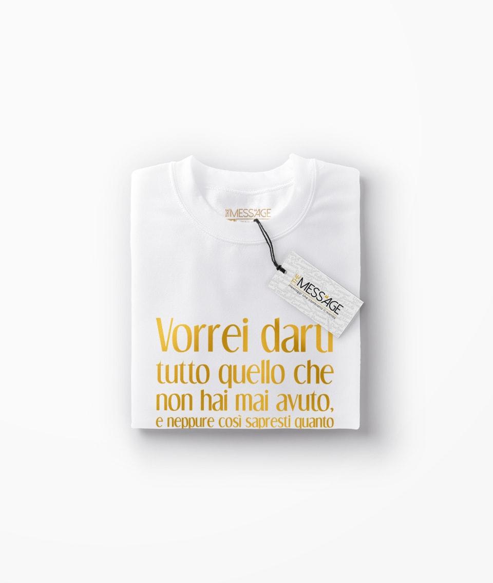 Vorrei darti tutto quello che non hai mai avuto – Frida Kahlo T-Shirt