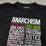 Anarchism does not mean Violence T-Shirt