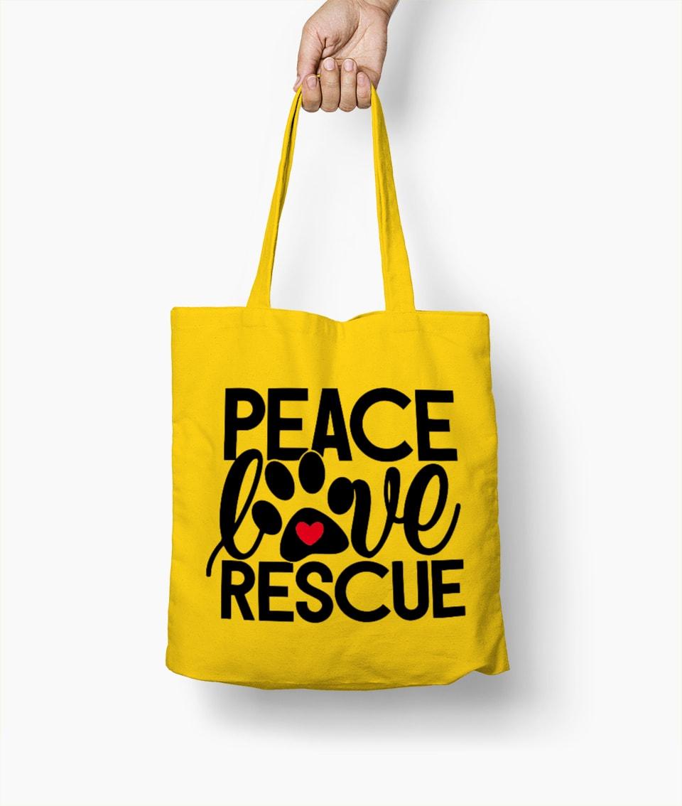 Peace Love Rescue – Borsa