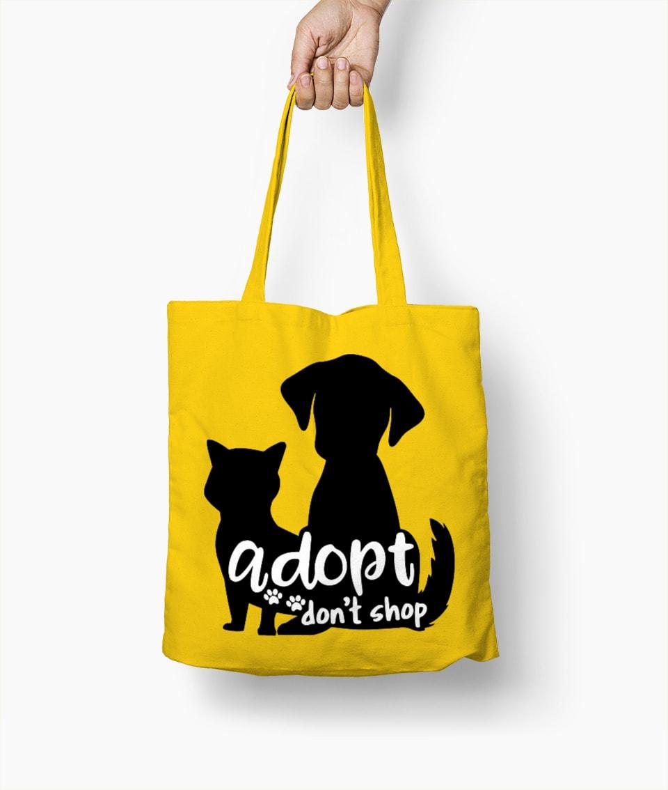 Adopt Don't Shop – Adottali, non comprare – Borsa