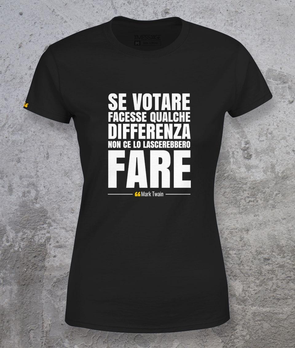 Se votare facesse qualche differenza – Mark Twain T-Shirt