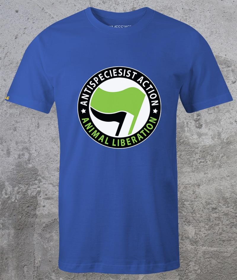 ANTISPECIESIST ACTION – ANIMAL LIBERATION T-shirt