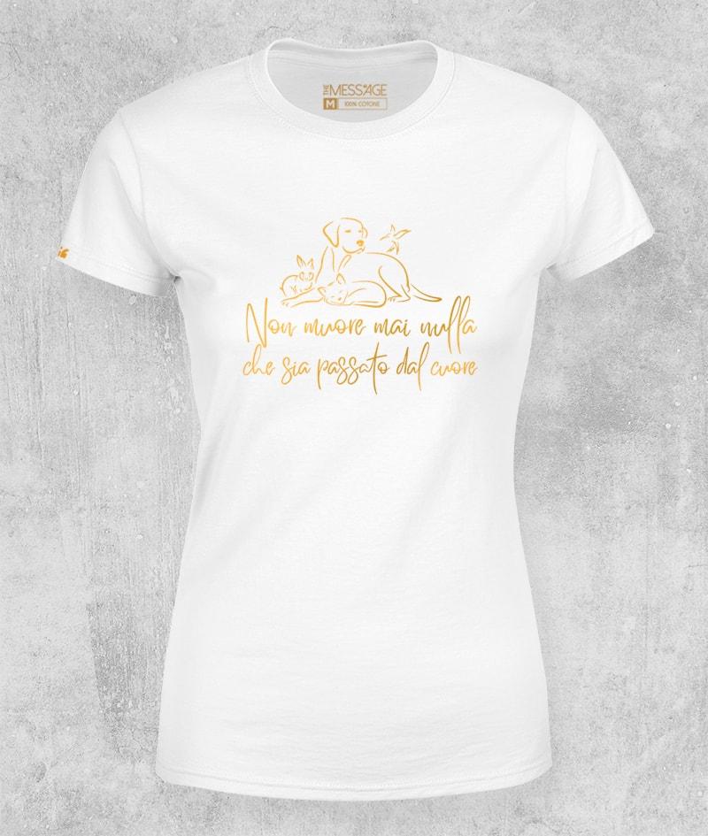 Non muore mai nulla che sia passato dal cuore T-Shirt