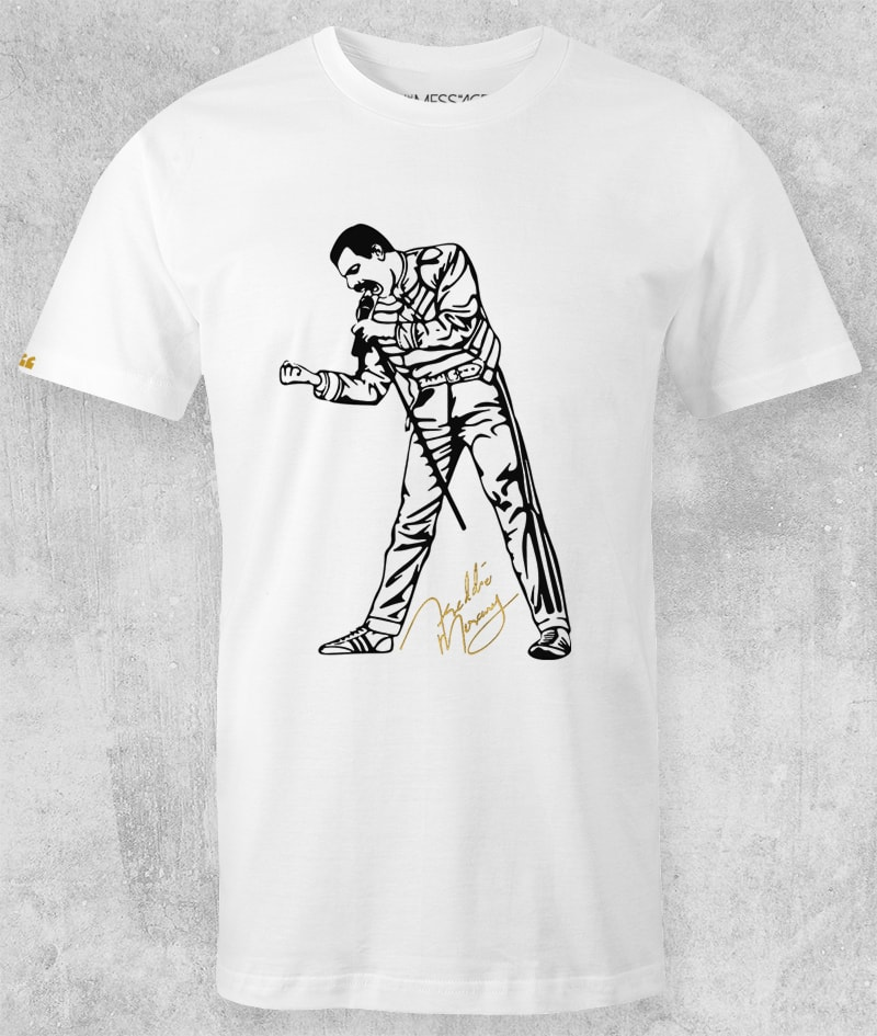 Freddie Mercury T-Shirt – We Will Rock You – Model 3
