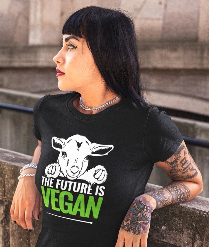 The Future is Vegan – T-Shirt