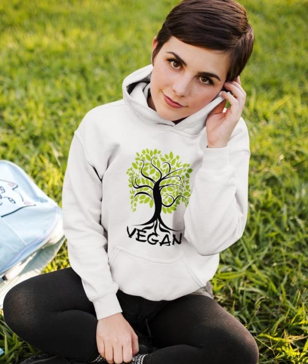 Vegan for Life – Felpa