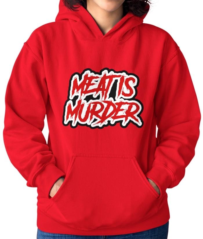 Meat is Murder – Felpa – Mod.2