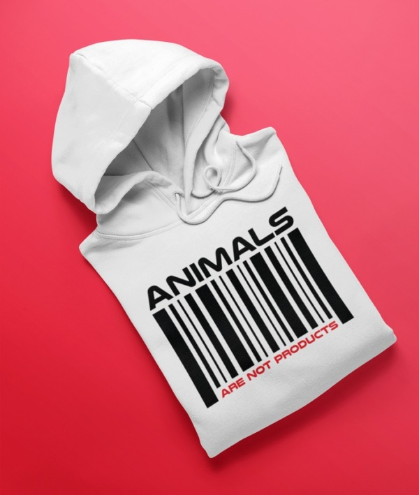 Animals are not products – Felpa