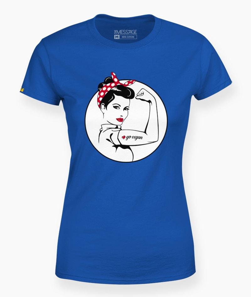 Go Vegan Rosie the Riveter T-Shirt