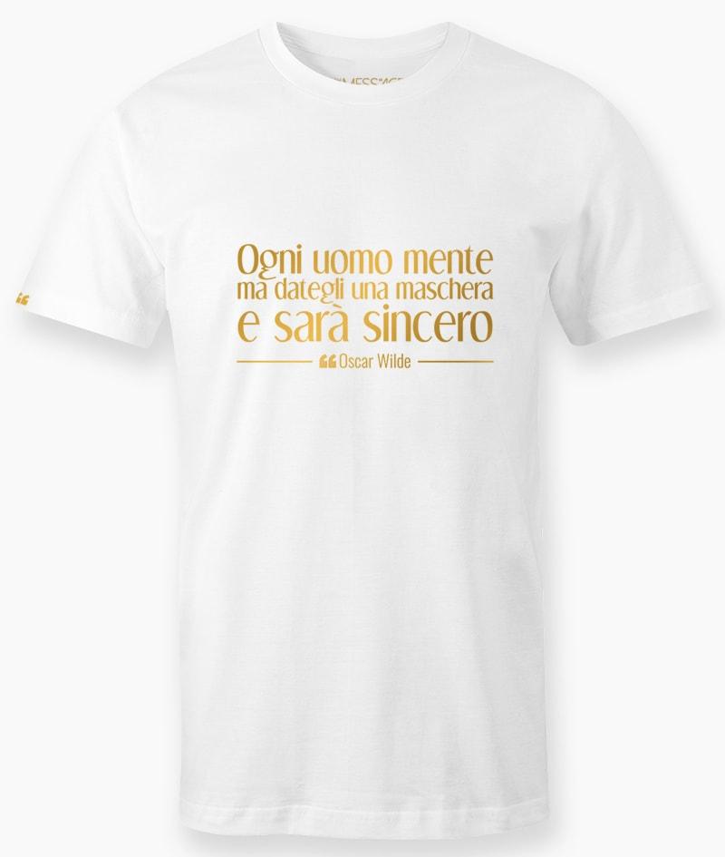 Ogni uomo mente – Oscar Wilde T-Shirt