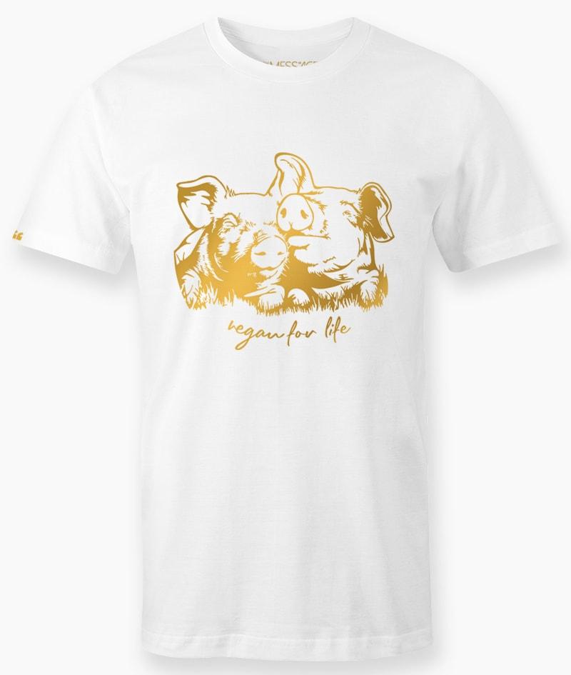 Vegan For Life – T-Shirt