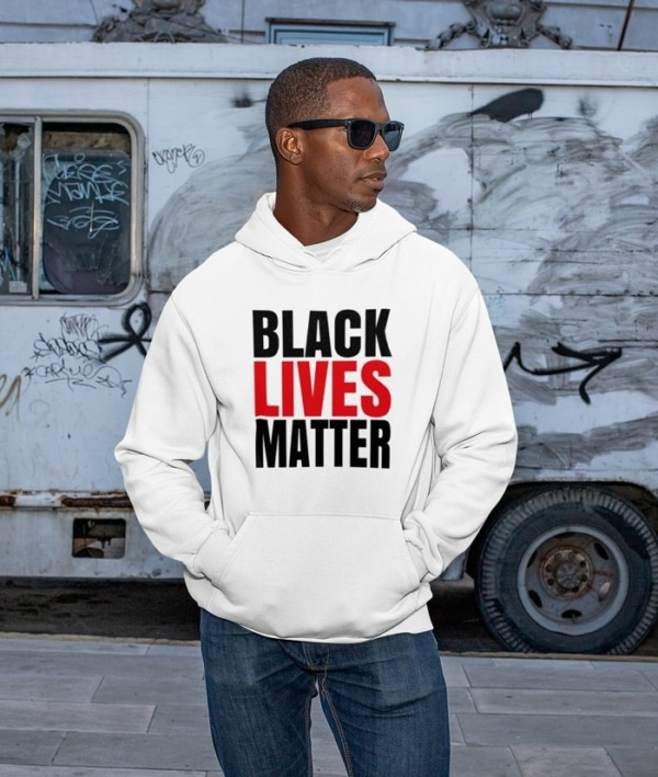 Black Lives Matter Felpa – Mod.1