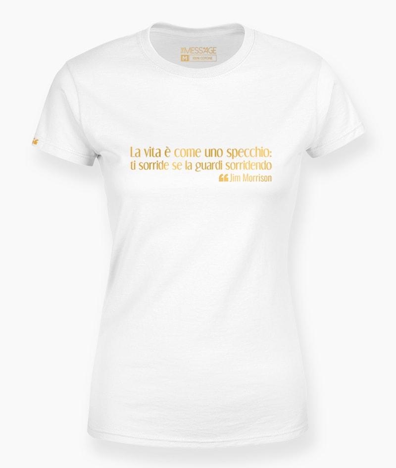 La vita è come uno specchio – Jim Morrison T-Shirt
