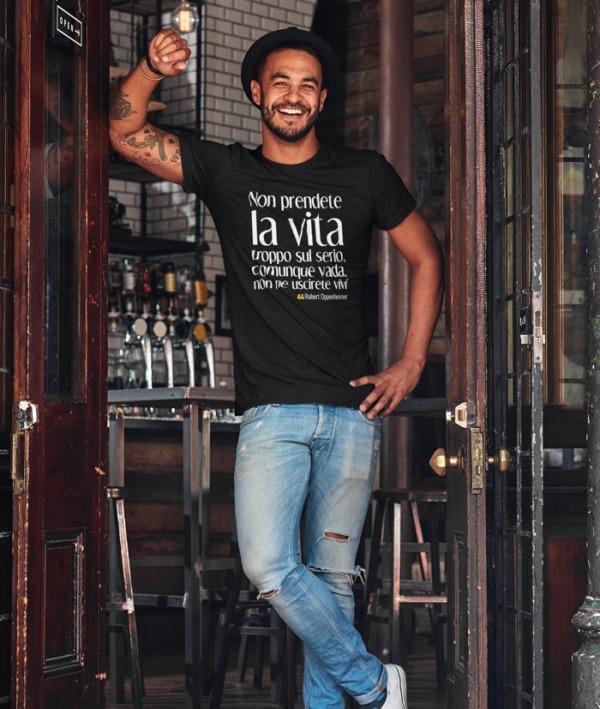 Più piccola è la mente – Esopo T-Shirt