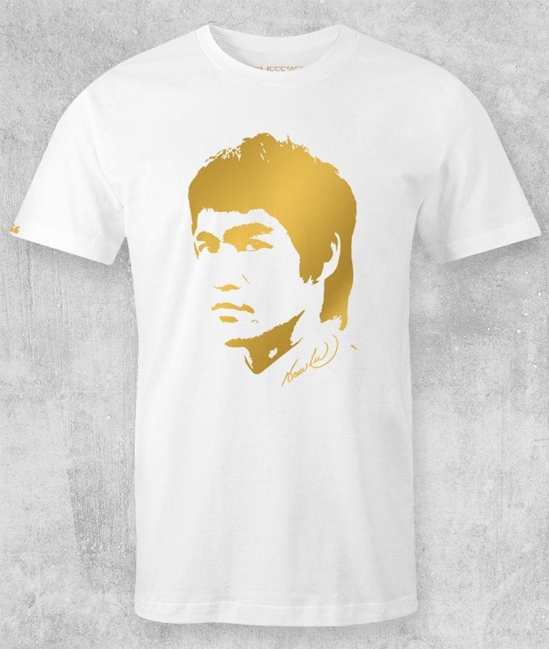 Bruce Lee T-Shirt – Ritratto stilizzato