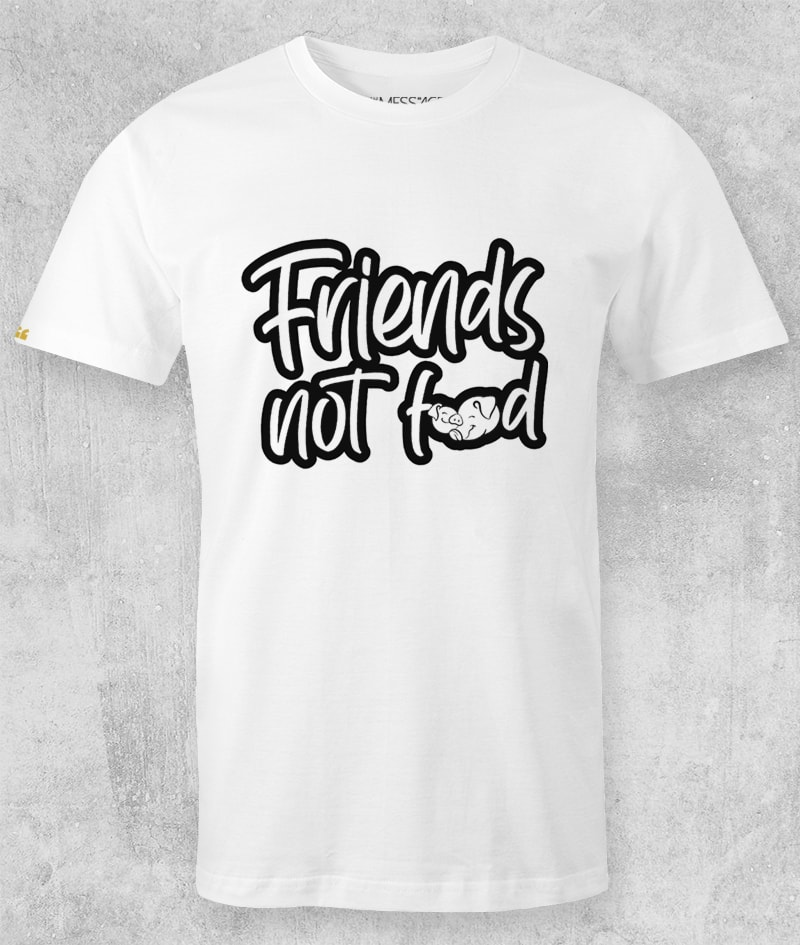 Friends Not Food T-shirt – Mod.4