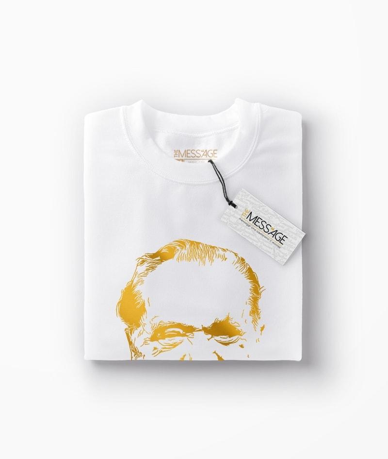 Charles Bukowski T-Shirt – Ritratto stilizzato – Limited Edition