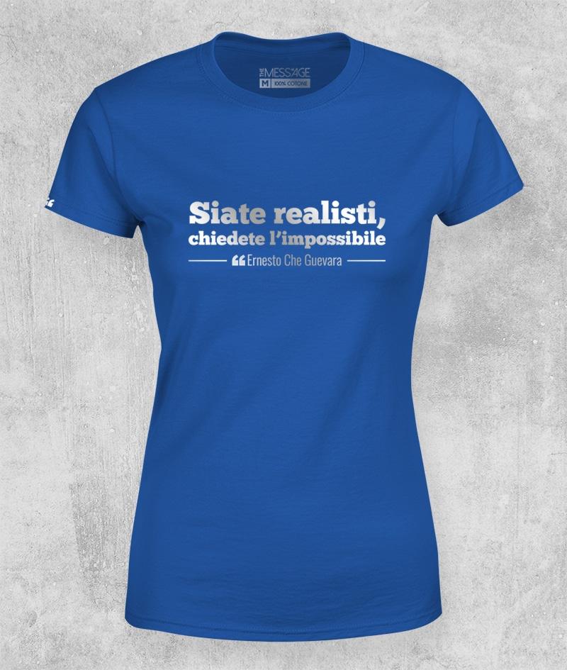 Siate realisti – Che Guevara T-Shirt – Mod. 2