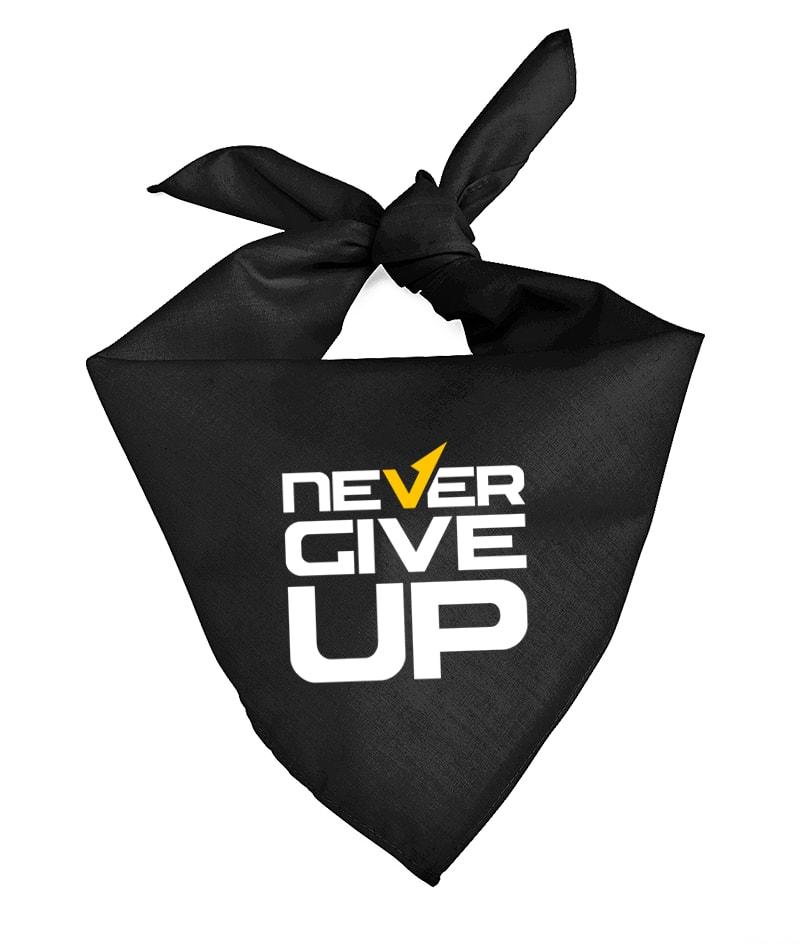 Never Give Up Bandana