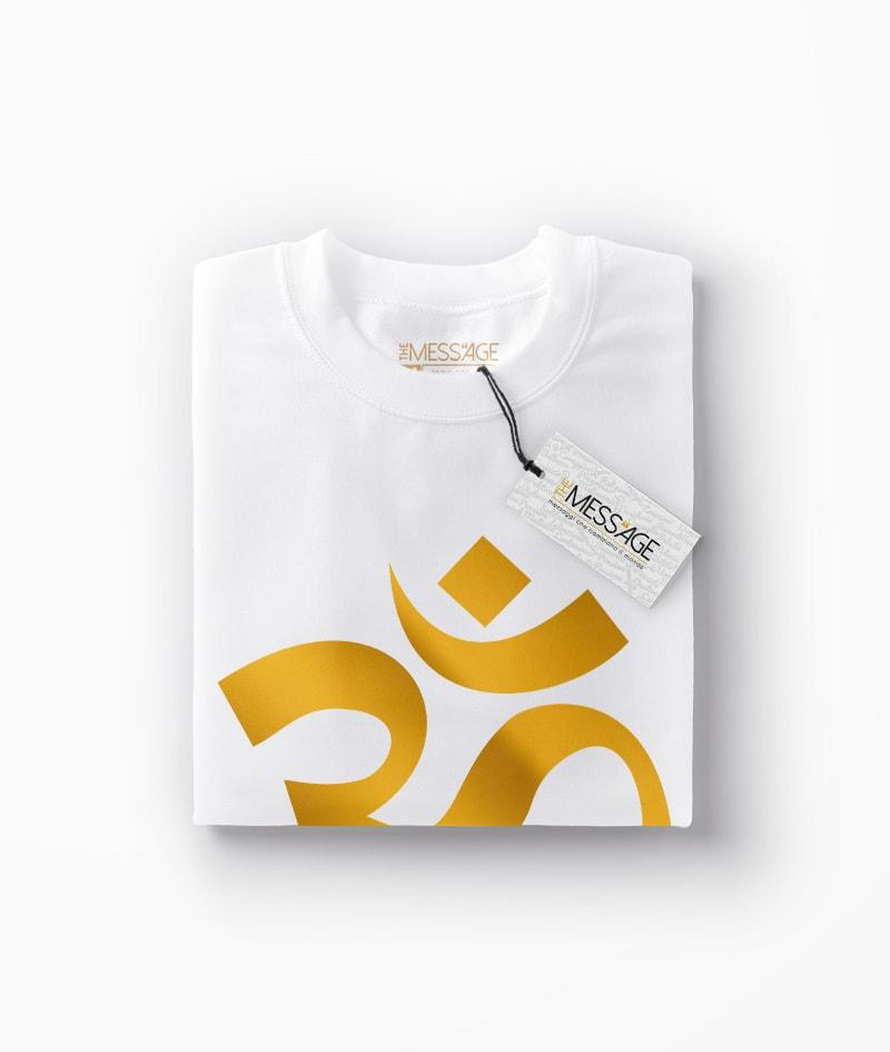 Simbolo Om – T-Shirt Yoga Meditazione – Manica lunga