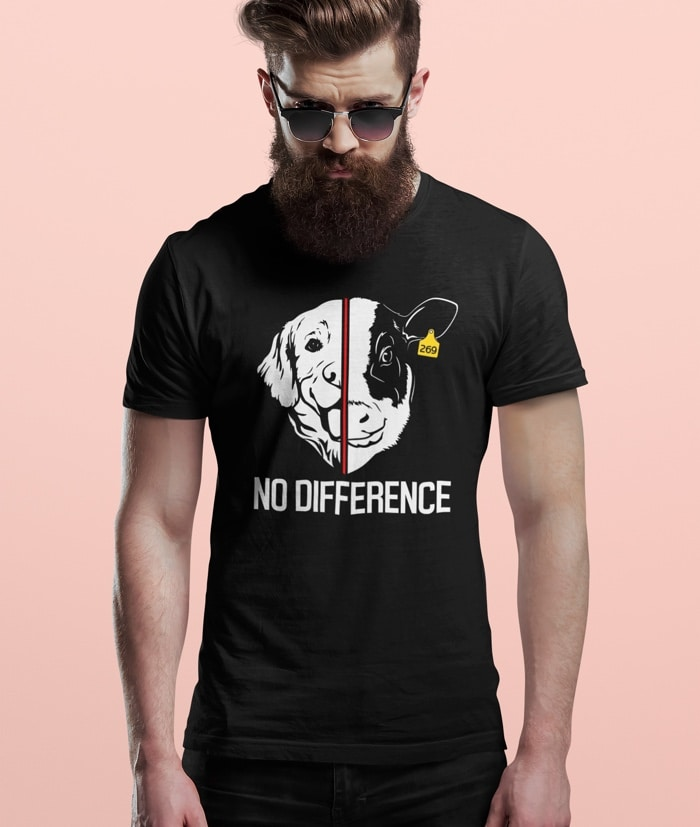 T-Shirt Antispecista – No Difference