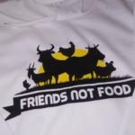 Friends not food - Felpa Attivismo Mod.2