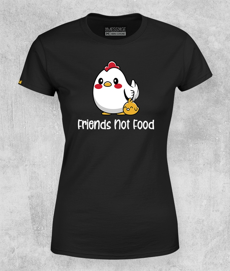 Friends not food T-shirt – Special Edition