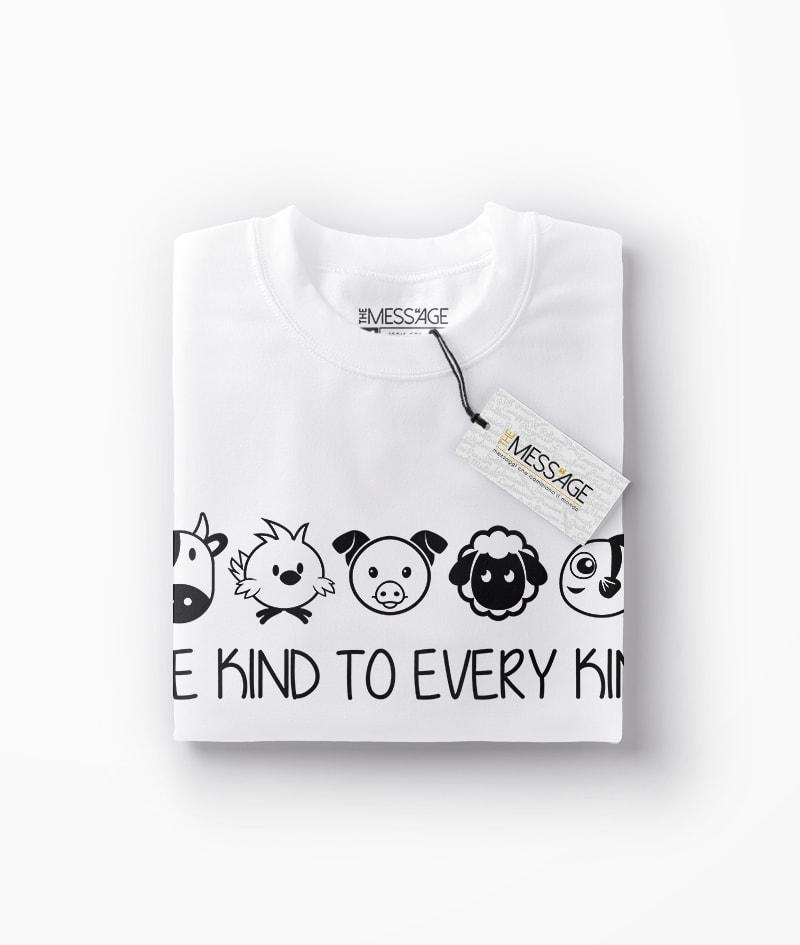 Be Kind To Every Kind – Vegan T-Shirt – Mod.2