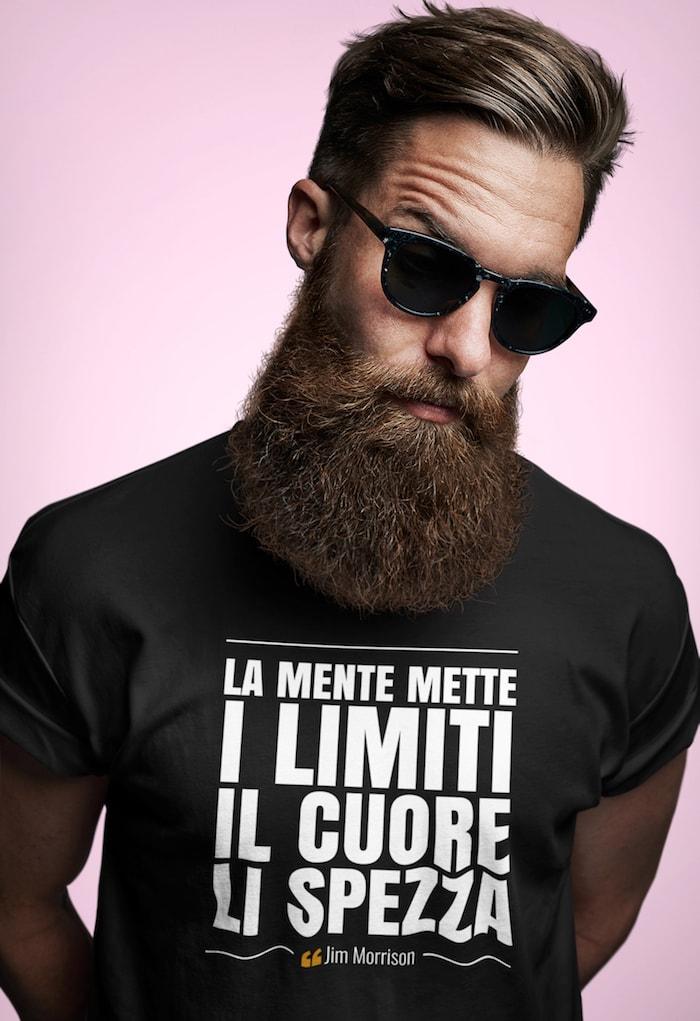 La mente mette i limiti – Jim Morrison T-Shirt