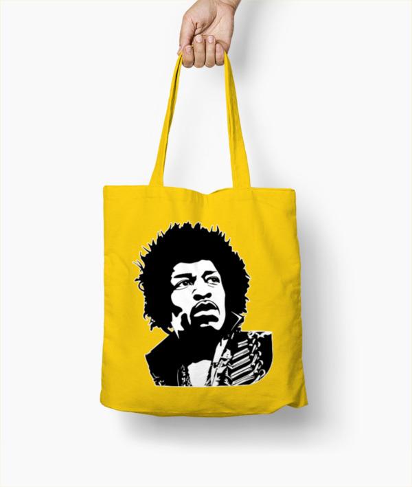 Ritratto stilizzato di Jimi Hendrix – Borsa