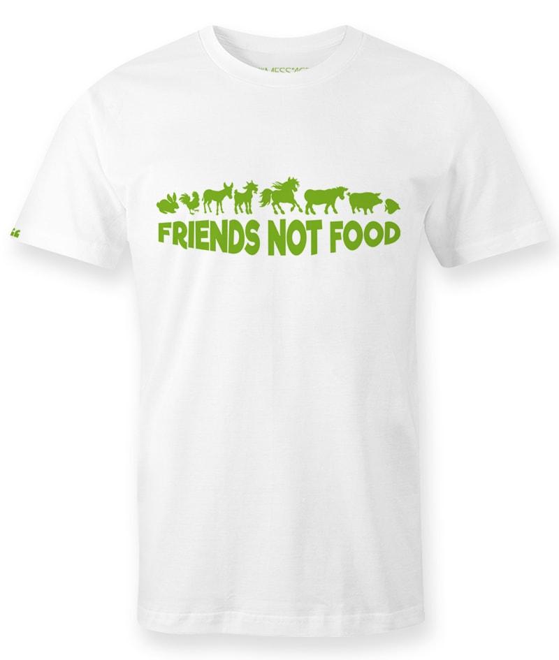 Friends Not Food T-shirt – Mod.5