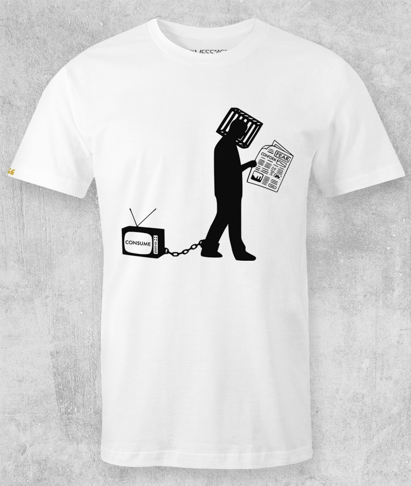 Consume –  Anticapitalism T-Shirt