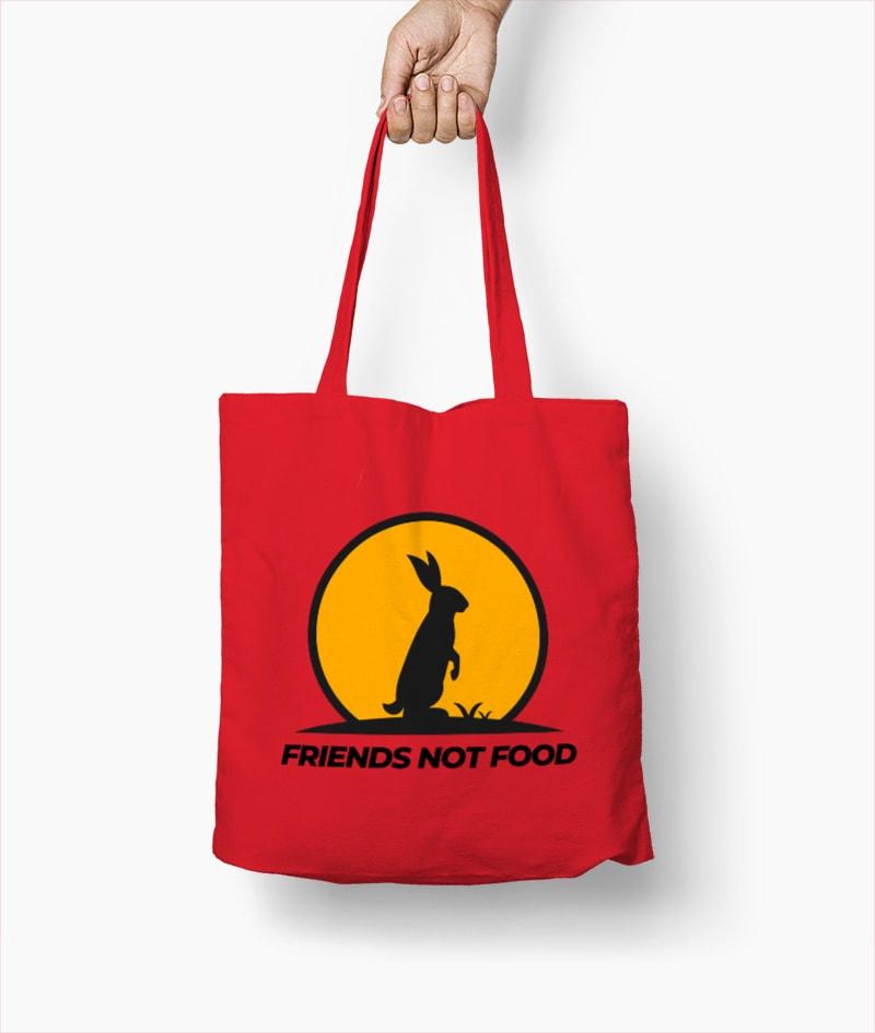 Friends not Food – Borsa – Mod.1