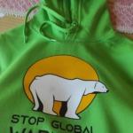 Stop Global Warming Felpa